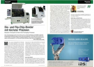 "Story on AMICRA in ""productronic"""