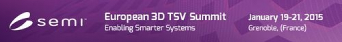 Exhibitor at European 3D TSV Summit 2015